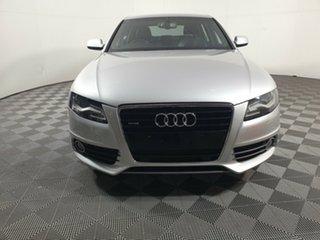 2011 Audi A4 B8 8K MY12 S Tronic Quattro Silver 7 Speed Sports Automatic Dual Clutch Sedan.