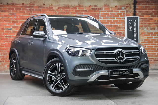 Certified Pre-Owned Mercedes-Benz GLE-Class V167 800+050MY GLE300 d 9G-Tronic 4MATIC Mulgrave, 2020 Mercedes-Benz GLE-Class V167 800+050MY GLE300 d 9G-Tronic 4MATIC Selenite Grey 9 Speed