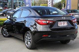 2018 Mazda 2 DL2SAA GT SKYACTIV-Drive Black 6 Speed Sports Automatic Sedan.