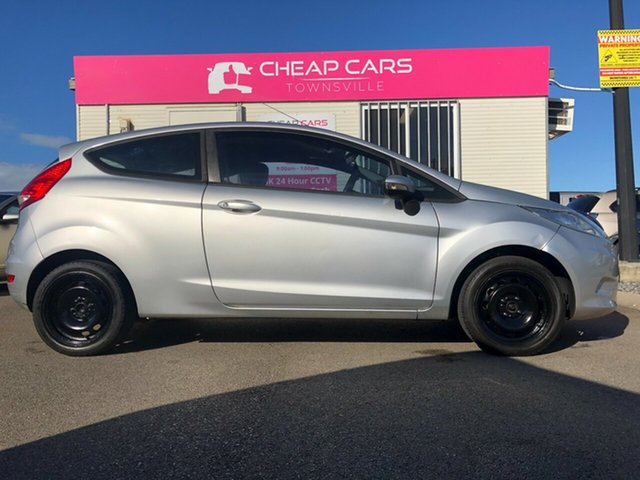 Used Ford Fiesta WS CL Garbutt, 2008 Ford Fiesta WS CL Silver 5 Speed Manual Hatchback