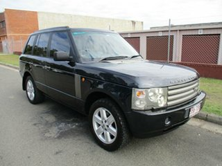 2002 Land Rover Range Rover L322 03MY HSE Blue 5 Speed Automatic Wagon.