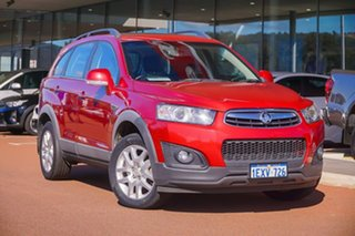 2015 Holden Captiva CG MY15 7 Active Red 6 Speed Sports Automatic Wagon.