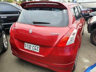 2012 Suzuki Swift FZ GL Red 4 Speed Automatic Hatchback.