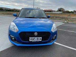 2017 Suzuki Swift AZ GL Navigator Safety Pack Blue 1 Speed Constant Variable Hatchback.
