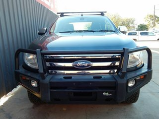 2014 Ford Ranger PX XLT Super Cab Grey 6 Speed Sports Automatic Utility.