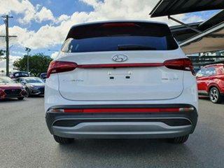 2021 Hyundai Santa Fe Tm.v3 MY21 DCT White Cream 8 Speed Sports Automatic Dual Clutch Wagon