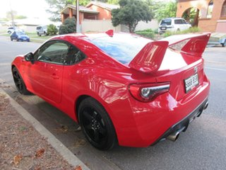 2016 Toyota 86 ZN6 GTS Ignition Red/charcoa 6 Speed Sports Automatic Coupe