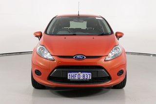 2012 Ford Fiesta WT CL Orange 5 Speed Manual Hatchback.