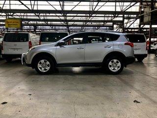 2014 Toyota RAV4 ASA44R MY14 GX AWD Silver 6 Speed Sports Automatic Wagon
