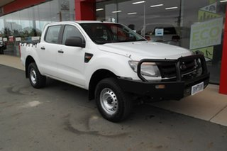 2014 Ford Ranger PX XL Hi-Rider White 6 Speed Sports Automatic Utility.
