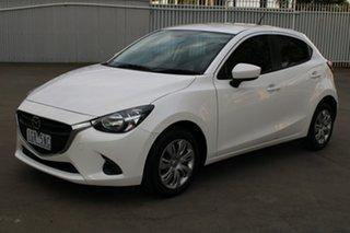 2016 Mazda 2 DJ MY16 Neo White 6 Speed Automatic Hatchback.