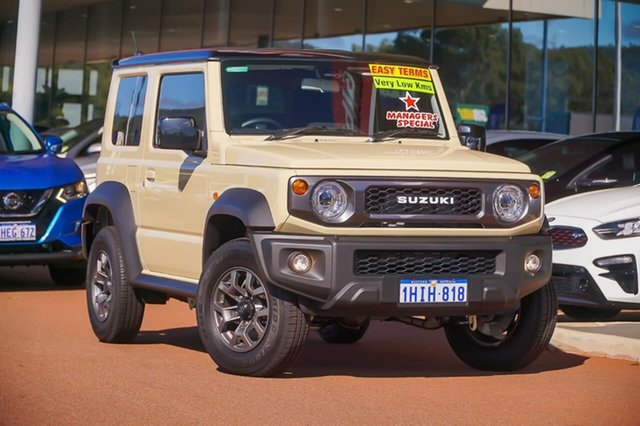 Used Suzuki Jimny JB74 Gosnells, 2020 Suzuki Jimny JB74 Beige 4 Speed Automatic Hardtop