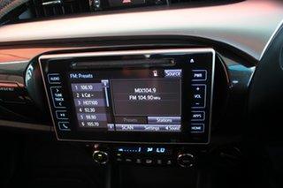 2018 Toyota Hilux GUN126R SR5 Double Cab Glacier White 6 Speed Automatic Dual Cab Chassis