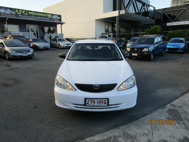 Used Toyota Camry ACV36R Altise Coorparoo, 2002 Toyota Camry ACV36R Altise White 4 Speed Automatic Sedan