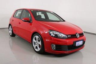 2013 Volkswagen Golf 1K MY13 GTi Red 6 Speed Direct Shift Hatchback.