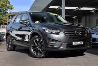 2015 Mazda CX-5 KE1032 Akera SKYACTIV-Drive AWD Grey 6 Speed Sports Automatic Wagon.