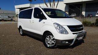 2014 Hyundai iMAX TQ MY13 White 5 Speed Automatic Wagon.