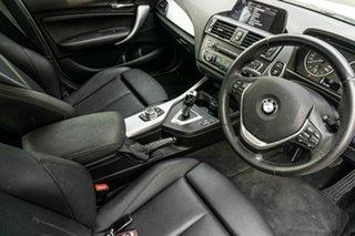 2014 BMW 1 Series F20 MY0713 116i Steptronic White 8 Speed Sports Automatic Hatchback