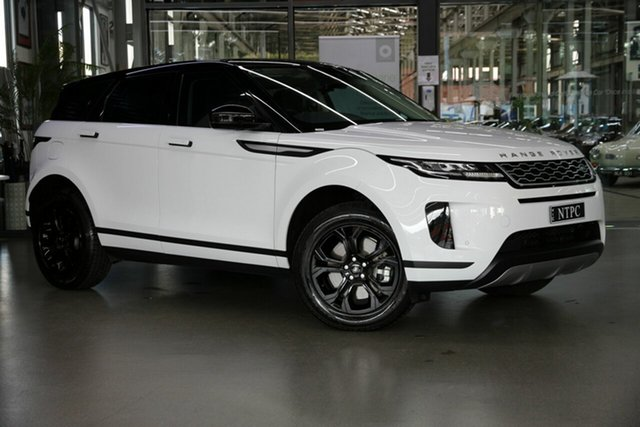 Used Land Rover Range Rover Evoque L551 MY20 D150 S North Melbourne, 2019 Land Rover Range Rover Evoque L551 MY20 D150 S White 9 Speed Sports Automatic Wagon