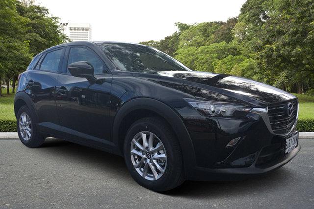 Demo Mazda CX-3 DK2W7A Maxx SKYACTIV-Drive FWD Sport LE Paradise, 2021 Mazda CX-3 DK2W7A Maxx SKYACTIV-Drive FWD Sport LE Jet Black 6 Speed Sports Automatic Wagon