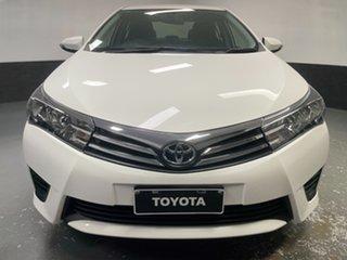 2014 Toyota Corolla ZRE172R Ascent S-CVT White 7 Speed Constant Variable Sedan.