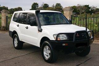 2000 Mitsubishi Pajero NM GL LWB (4x4) White 5 Speed Manual 4x4 Wagon.