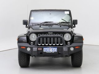 2017 Jeep Wrangler JK MY17 Overland (4x4) Black 5 Speed Automatic Hardtop.