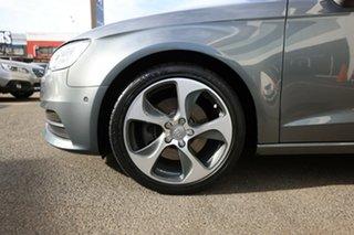 2015 Audi A3 8V MY15 Sportback 1.8 TFSI Ambition Monsoon Grey 7 Speed Auto Direct Shift Hatchback.