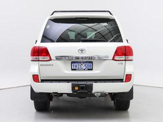 2008 Toyota Landcruiser VDJ200R Sahara (4x4) White 6 Speed Automatic Wagon