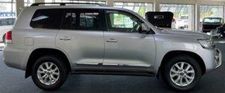 2018 Toyota Landcruiser VDJ200R Sahara Silver 6 Speed Sports Automatic Wagon.
