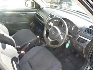 2015 Suzuki Swift FZ MY15 GL Navigator Black 5 Speed Manual Hatchback