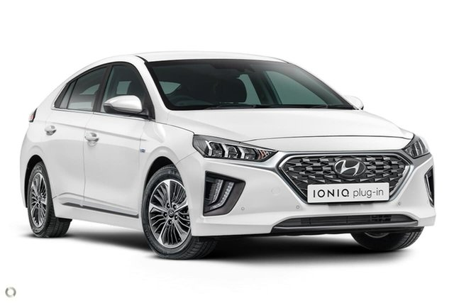 New Hyundai Ioniq AE.V4 MY21 plug-in DCT Premium Oakleigh, 2021 Hyundai Ioniq AE.V4 MY21 plug-in DCT Premium White 6 Speed Sports Automatic Dual Clutch