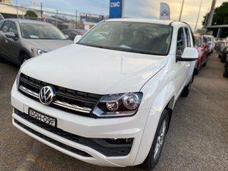 2017 Volkswagen Amarok 2H MY17 TDI420 4MOTION Perm Core Plus White 8 Speed Automatic Utility.