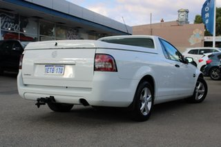 2010 Holden Ute VE MY10 Omega White 4 Speed Automatic Utility