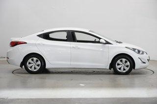 2015 Hyundai Elantra MD3 Active White 6 Speed Sports Automatic Sedan