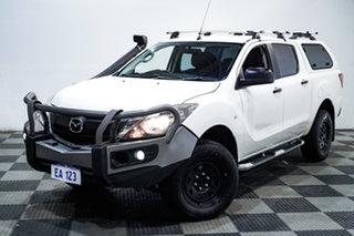 2017 Mazda BT-50 UR0YG1 XT White 6 Speed Sports Automatic Utility.