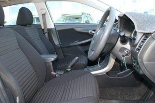 2007 Toyota Corolla ZZE122R 5Y Ascent Silver 4 Speed Automatic Sedan