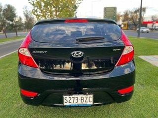 2018 Hyundai Accent RB6 MY18 Sport Black 6 Speed Sports Automatic Hatchback