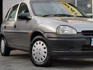 1994 Holden Barina SB Swing Silver 5 Speed Manual Hatchback.