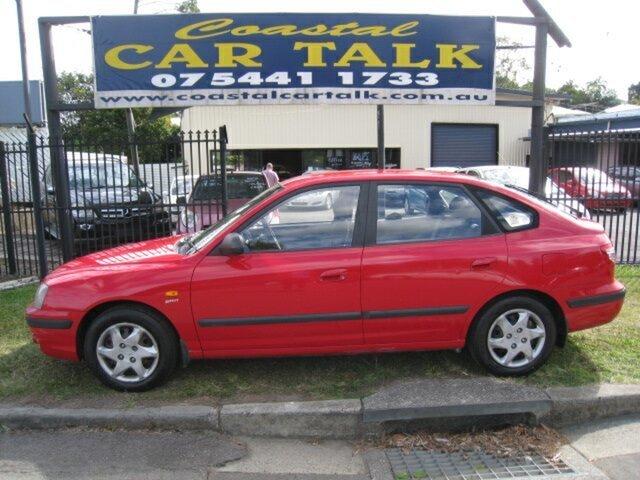 Used Hyundai Elantra XD 2.0 HVT Nambour, 2004 Hyundai Elantra XD 2.0 HVT Red 5 Speed Manual Hatchback