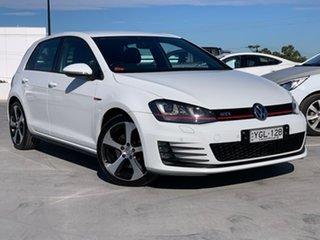 2016 Volkswagen Golf VII MY17 GTI DSG White 6 Speed Sports Automatic Dual Clutch Hatchback.