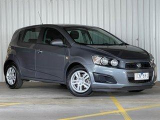 2014 Holden Barina TM MY14 CD Grey 6 Speed Automatic Hatchback.