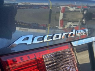 2012 Honda Accord Euro Luxury Grey 5 Speed Automatic Sedan