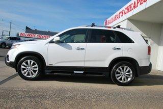 2011 Kia Sorento XM MY11 Platinum (4x4) White 6 Speed Automatic Wagon.