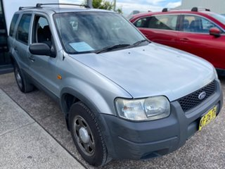 2005 Ford Escape ZB XLS Silver 4 Speed Automatic SUV.
