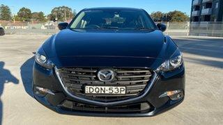2017 Mazda 3 BN5278 Maxx SKYACTIV-Drive Black 6 Speed Sports Automatic Sedan.