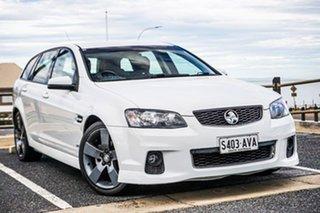 2012 Holden Commodore VE II MY12.5 SV6 Sportwagon Z Series White 6 Speed Sports Automatic Wagon.