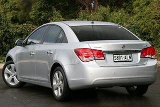 2011 Holden Cruze JG CDX Nitrate Silver 6 Speed Sports Automatic Sedan.