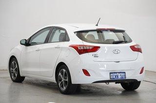 2015 Hyundai i30 GD3 Series II MY16 Active X Polar White 6 Speed Sports Automatic Hatchback