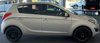 2014 Hyundai i20 PB MY14 Active Silver 6 Speed Manual Hatchback.